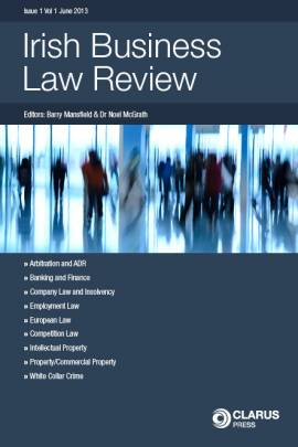 Irish Business Law Review