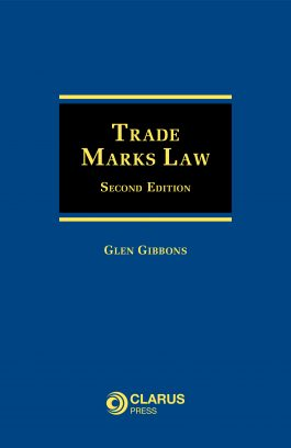 Trade Marks Law, Second Edition